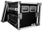 10U amp rack case