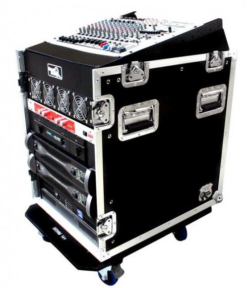 12U Slant Rack with 12 vertical units