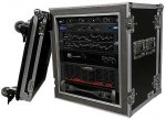 12U shockmount amp rack case