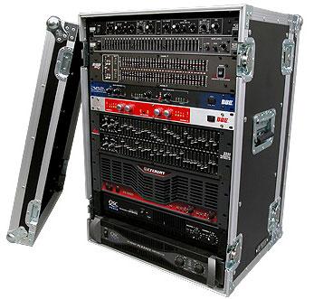 16U Amp Rack Case