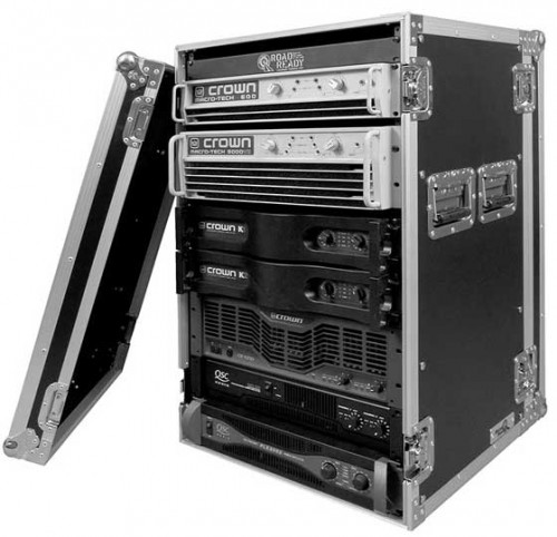 18U Amp Rack Case