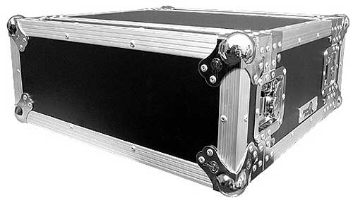 Lightweight 4U Effects Rack Case