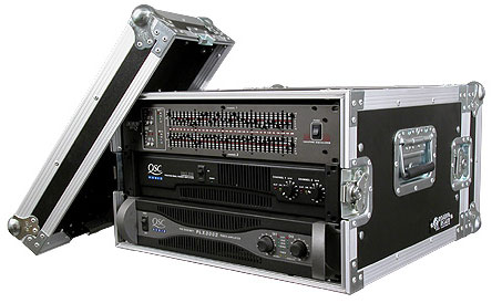 6U Amp Rack Case