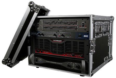 8U Amp Rack case