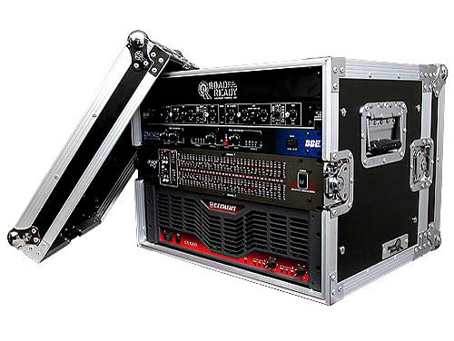 8U Effects Rack Case