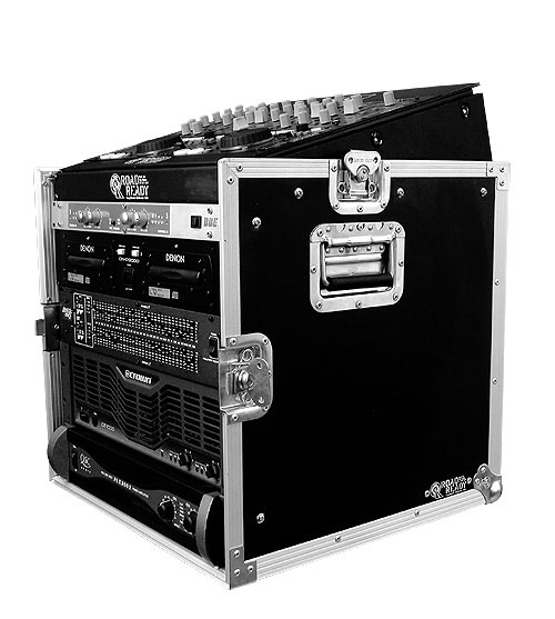 10U Slant Rack Case