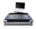 Pioneer DDj-SX case with laptop tray