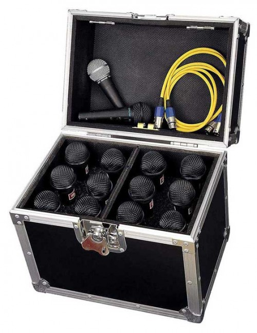 12x Microphone case