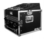 10U slant rack with 6U vertical rack