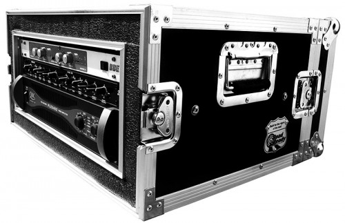 4U Shockmount Amp Rack Case
