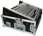 10U slant rack with 2U vertical rack